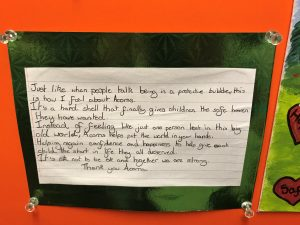 A letter from a 10-year-old boy who was helped by Acorns