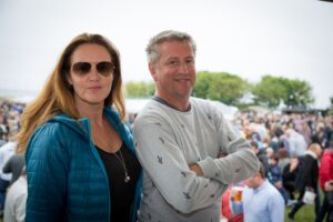 Shelley and Mark Deakin - the couple behind The Proper Food and Drink Festivals