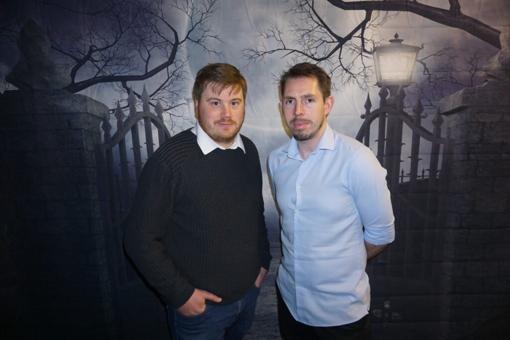 (from left) Graham Huntley and Nick Rodgers of Project Escape