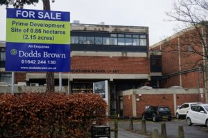 For sale - The Northern School of Art campus in Middlesbrough