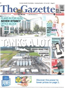Gazette front page 25 February 2021