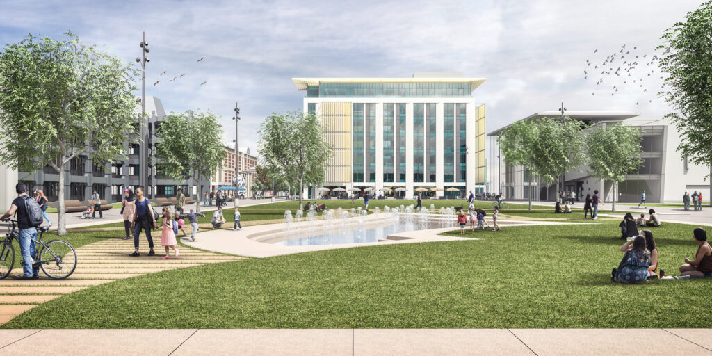 The plan would transform the centre of Middlesbrough