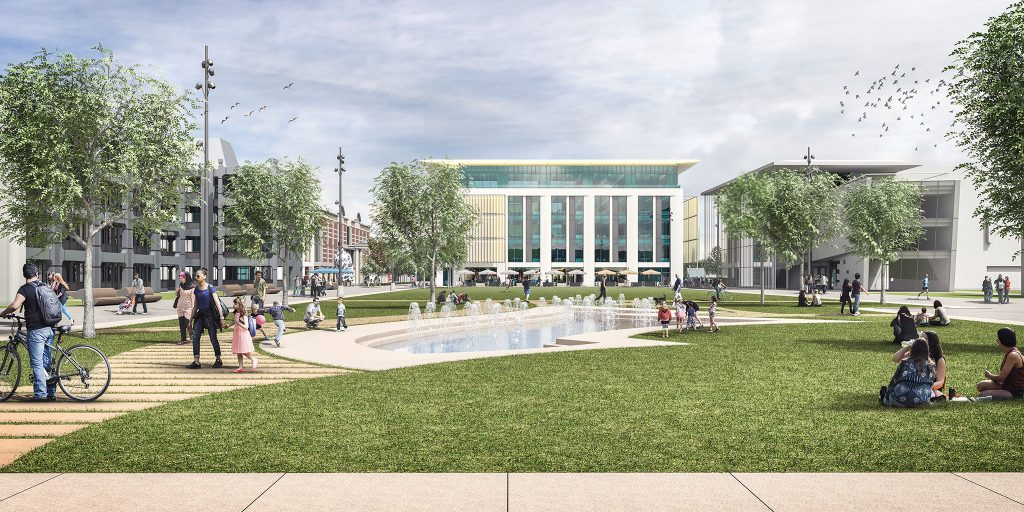 Centre Square's next phased has been given outline planning permission