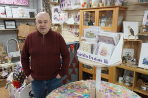 John Dixon - owner of The Crafty Patch